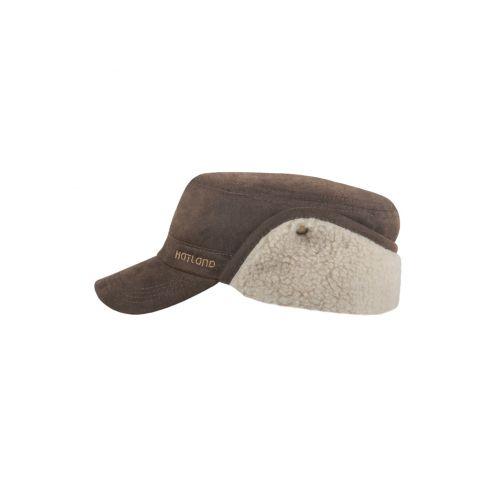 Hatland---Baseball-cap-for-men---Yerson---Brown