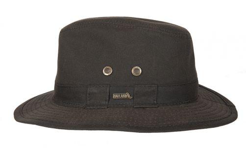 Hatland---Fabric-hat-for-men---Sanbourne---Brown