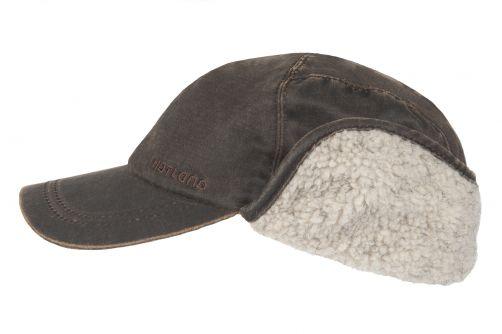 Hatland---Baseball-cap-for-men---Trick---Brown