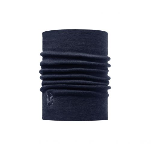 Buff---Heavyweight-Merino-Wool-Solid-Tube-scarf-for-adults---Denim