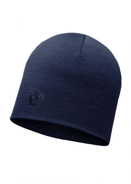Buff---Heavyweight-Merino-Wool-Solid-Hat-for-adults---Regular---Denim