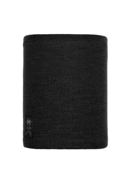 Buff---Knitted-Polar-Tube-scarf-Neo-for-adults---Black