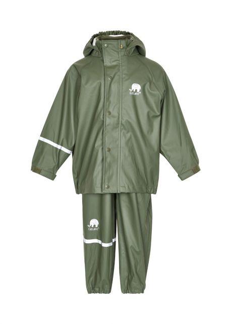 CeLaVi---Rainsuit-for-Kids---Darkgreen