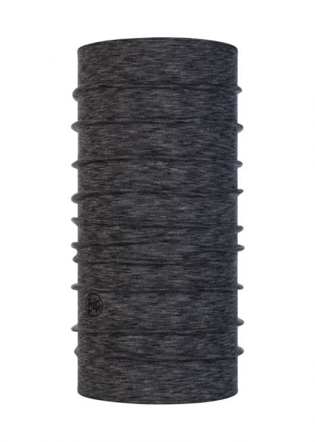 Buff---Midweight-Merino-Tube-scarf-Stripes-for-adults---Graphite