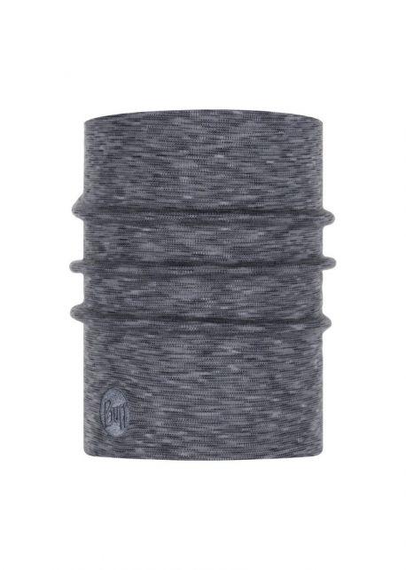 Buff---Heavyweight-Merino-Wool-Stripes-Tube-scarf-for-adults---Grey