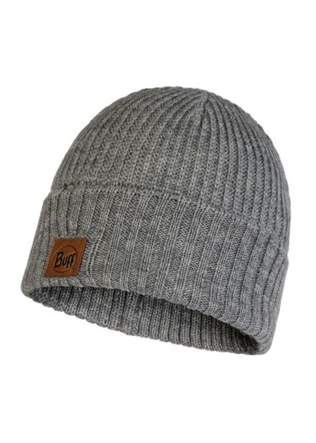 Buff---Knitted-Hat-Rutger-for-adults---Grey