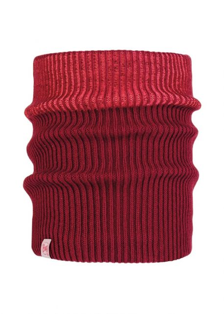 Buff---Knitted-Polar-Tube-scarf-Audny-for-children---Red