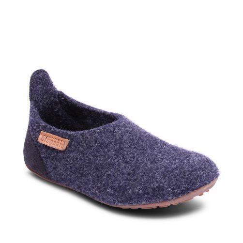 Bisgaard---Home-shoe-for-babies---Basic-wool---Blue
