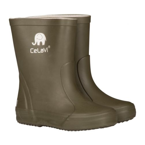 CeLaVi---Rubber-Boots-for-Kids---Darkgreen