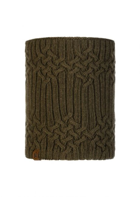 Buff---Knitted-Polar-Tube-scarf-New-Helle-for-adults---Tundra-Khaki