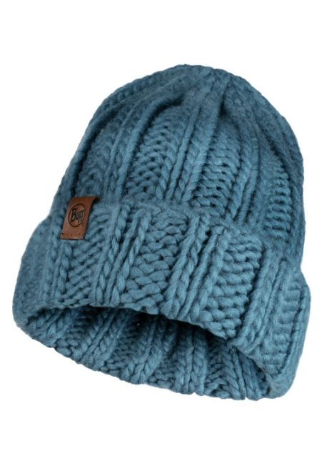 Buff---Knitted-Hat-Vanya-for-adults---Blue