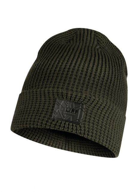 Buff---Knitted-Hat-Kirill-for-adults---Darkgreen