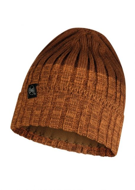 Buff---Knitted-Polar-Hat-Igor-for-adults---Brown