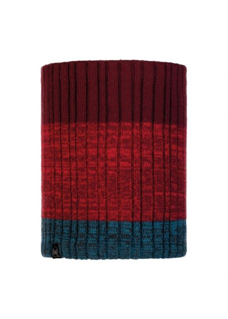 Buff---Knitted-Polar-Tube-scarf-Igor-for-adults---Red
