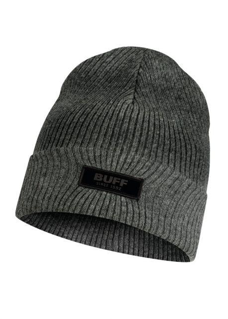 Buff---Knitted-Hat-Marik-for-children---Grey