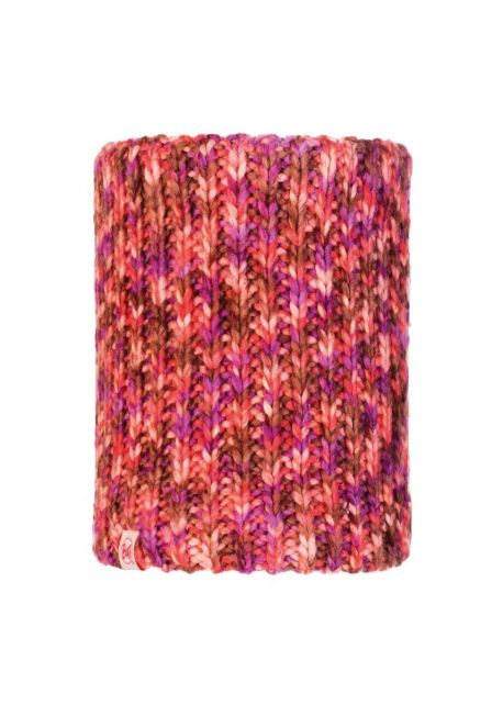 Buff---Knitted-Polar-Tube-scarf-Lera-for-children---Pink/Multi