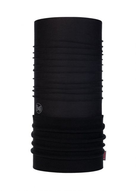 Buff---Polar-Tube-scarf-Solid-for-children---Black