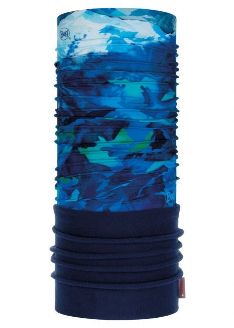 Buff---Polar-Tube-scarf-High-Mountain-for-children---Blue/Multi