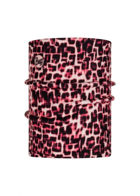 Buff---Reversible-Polar-Tube-scarf-Savage-Pink-for-children---Pink/Multi