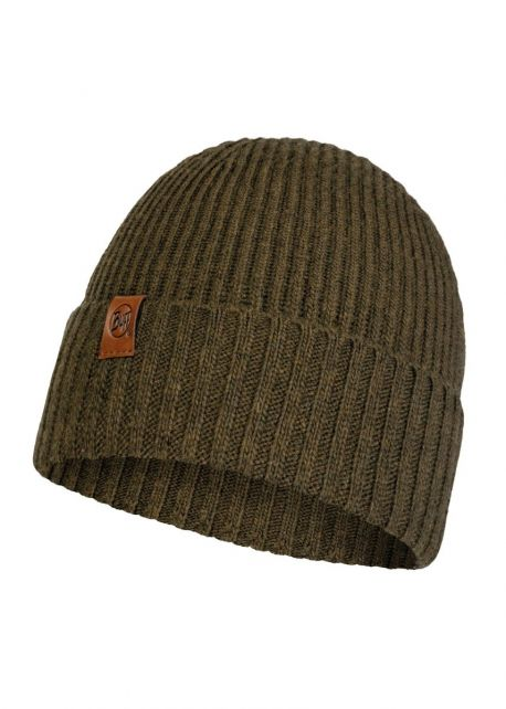 Buff---Knitted-Hat-New-Biorn-for-adults---Tundra-Khaki