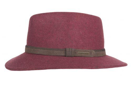 Hatland---Wool-hat-for-men---Toronto---Burgundy