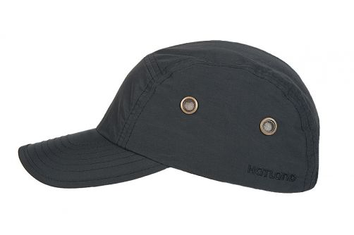 Hatland---Water-resistant-UV-Baseball-cap-for-men---Reef---Black