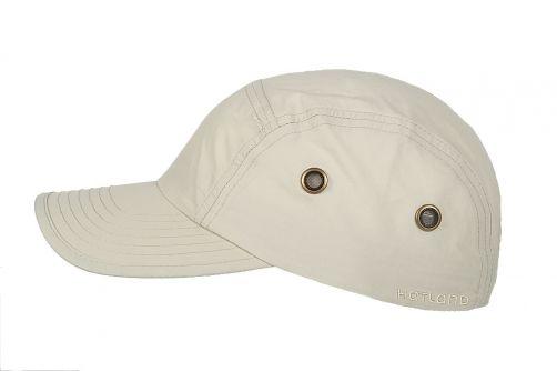 Hatland---Water-resistant-UV-Baseball-cap-for-men---Reef---Beige