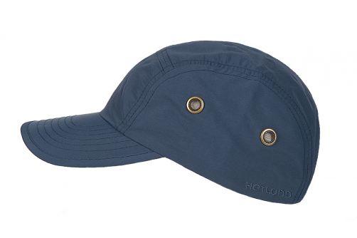 Hatland---Water-resistant-UV-Baseball-cap-for-men---Reef---Slate-bleu