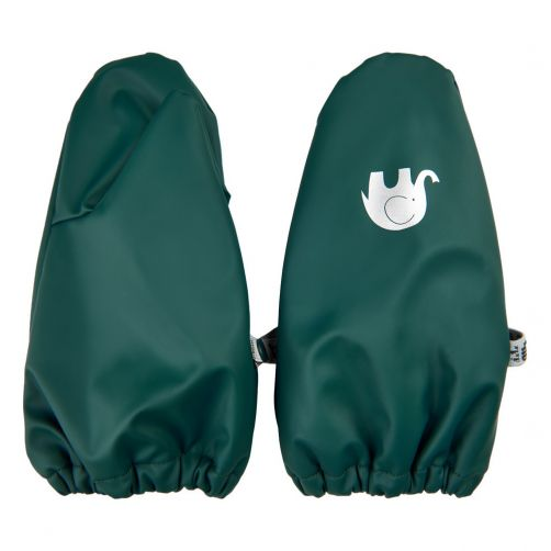 CeLaVi---Waterproof-Mittens-with-Fleece---Dark-Green