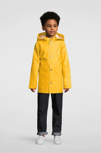 Stutterheim---Raincoat-for-children---Mini-Stockholm---Yellow