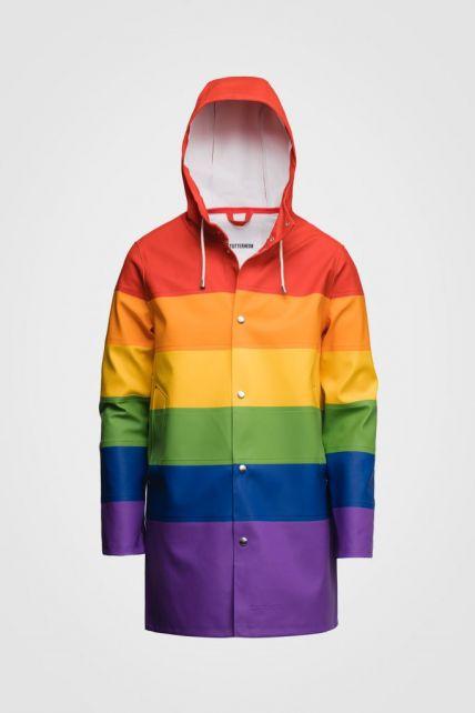 Stutterheim---Raincoat-for-men-and-women---Vladimir---Rainbow