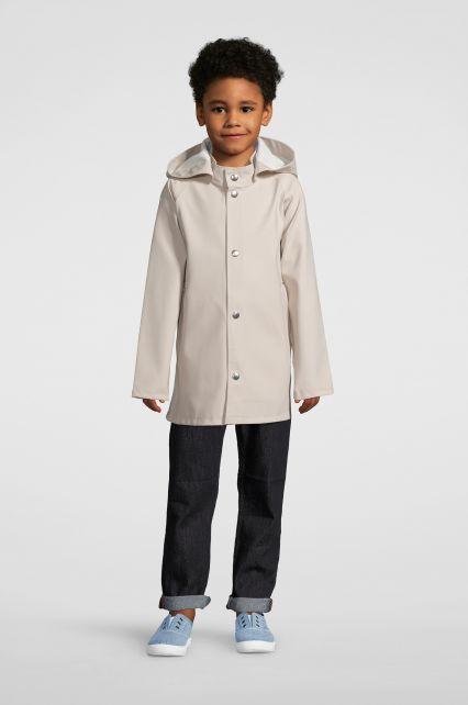 Stutterheim---Raincoat-for-children---Mini-Stockholm---Light-Sand