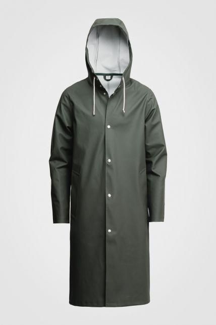 Stutterheim---Raincoat-for-men-and-women---Stockholm-Long---Green