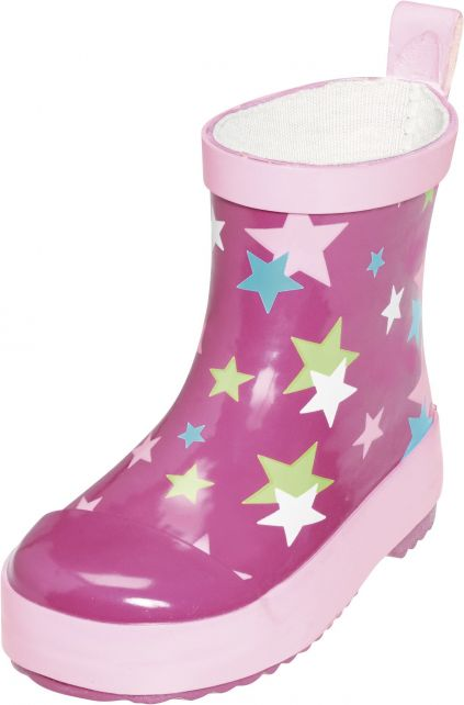 Playshoes---Short-Rainboots---Pink-Stars