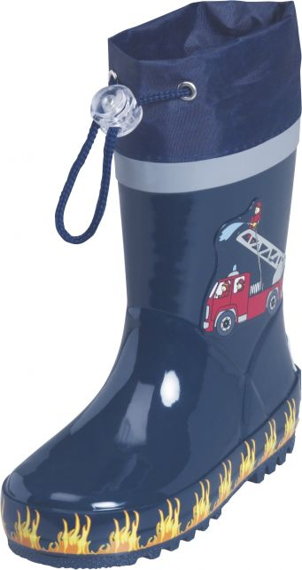 Playshoes---Rubber-Boots-Fire-Brigade---Navy