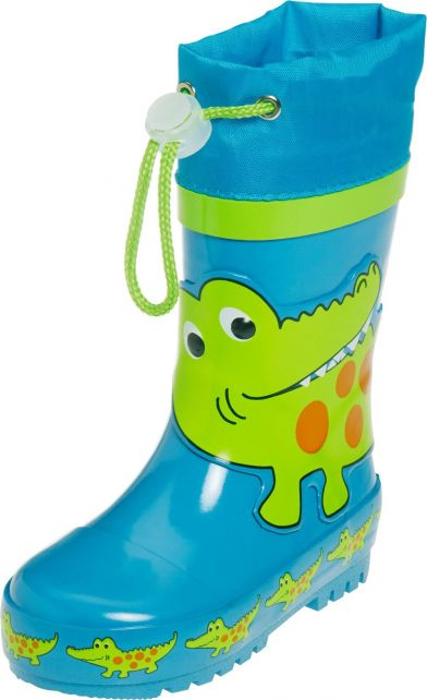 Playshoes---Rainboots-with-drawstring---Crocodile