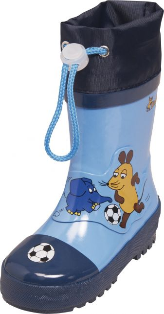 Playshoes---Rubber-Boots-Mouse-&-Elephant-Football---Blue