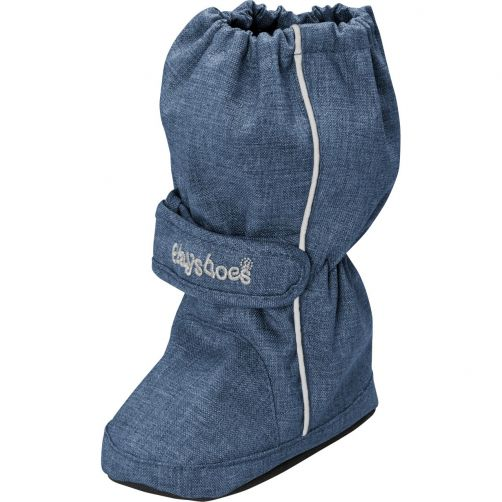 Playshoes---Thermal-winterboots-with-drawstring-for-kids---Denim-blue