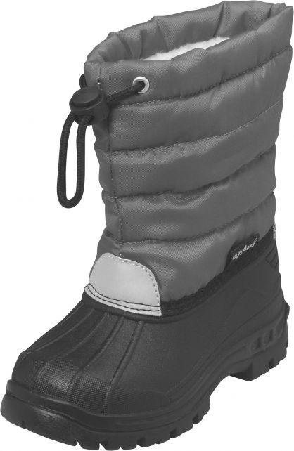 Playshoes---Winter-boots-with-elastic-cord---Gray