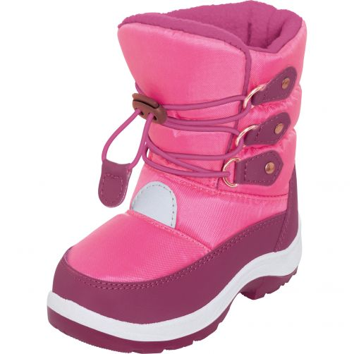 Playshoes---Winterboots-with-laces-for-kids---Pink