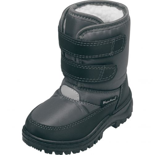 Playshoes---Winterboots-with-velcro-for-kids---Grey