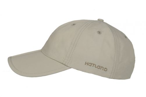 Hatland---Water-resistant-UV-Baseball-cap-for-men---Clarion---Beige