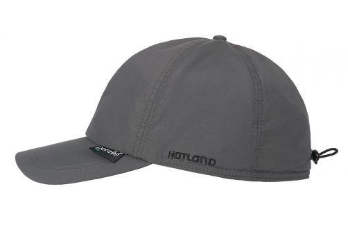 Hatland---Baseball-cap-for-men---Walter-Porelle---Anthracite