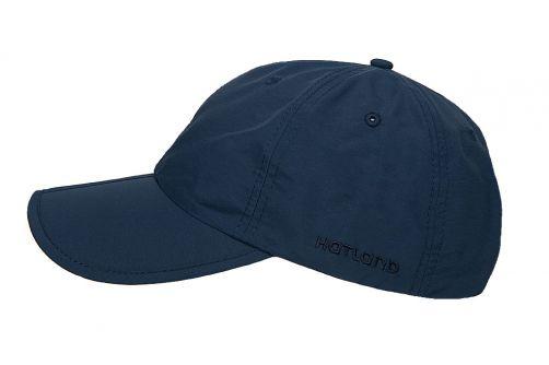 Hatland---Water-resistant-UV-Baseball-cap-for-men---Clarion---Slate-blue