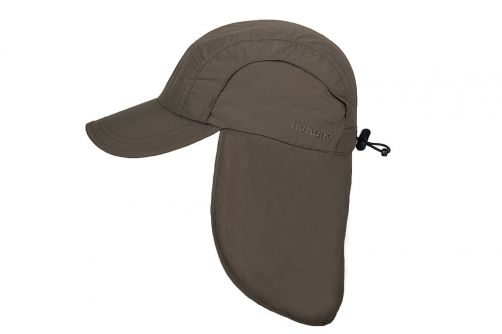 Hatland---Cooling-UV-Sun-cap-with-neck-protection-for-men---Malcolm---Olive