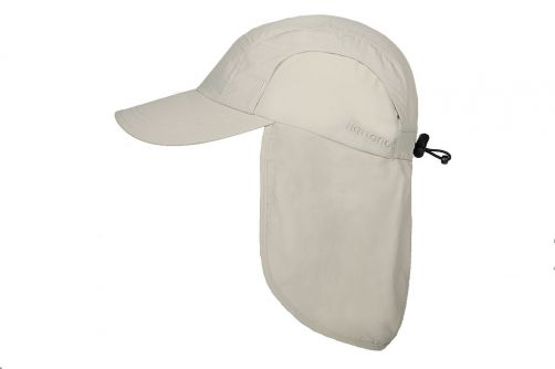 Hatland---Cooling-UV-Sun-cap-with-neck-protection-for-men---Malcolm---Putty