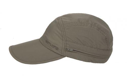 Hatland---UV-Sun-cap-with-neck-protection-for-men---Janou---Olivegreen