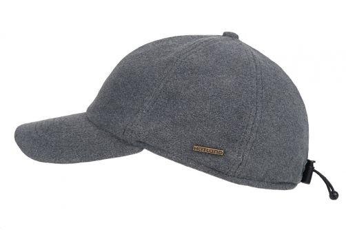 Hatland---Baseball-cap-for-men---Lenox---Light-Grey