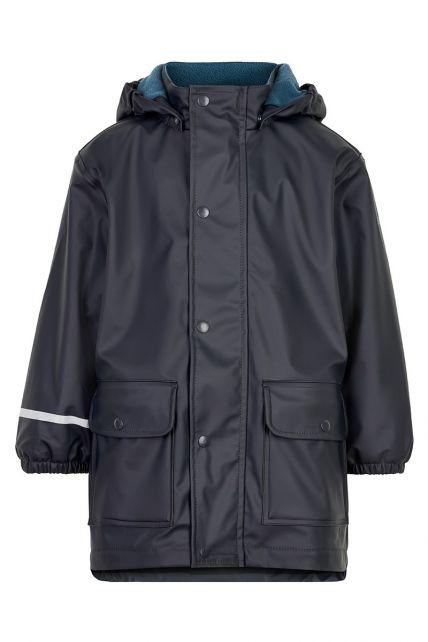CeLaVi---Raincoat-with-fleece-for-boys---Dark-blue