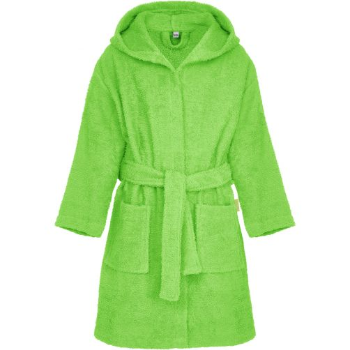 Playshoes---Terry-bath-robe-for-kids---Green